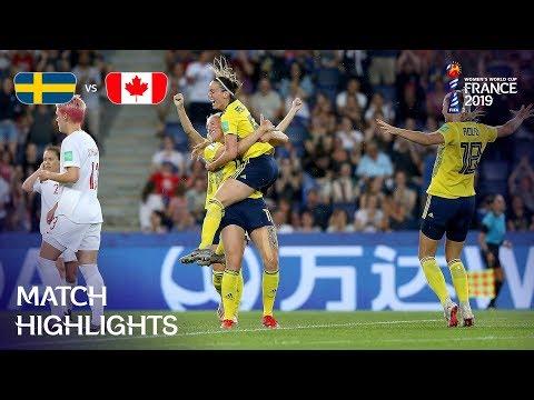 Sweden v Canada - FIFA Womenвs World Cup France 2019в