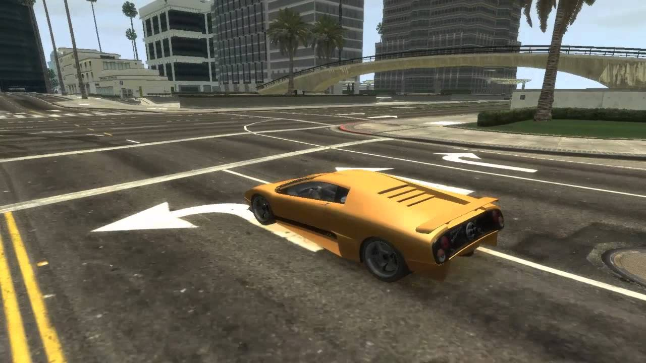 Grand Theft Auto IV - (GTA 5 PC LS Converted To IV MOD) HD - YouTube