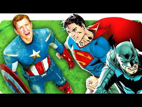 CAPTAIN AMERICA vs BATMAN & SUPERMAN: Who Is More Likely To Flee From May 6th, 2016? | PMI 115