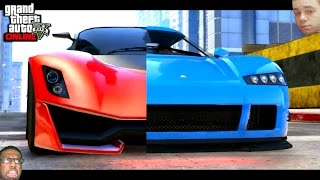 GTA 5 PS4 - Epic Turismo R Vs Entity XF Racing Battle! (GTA V Online Breakdown)