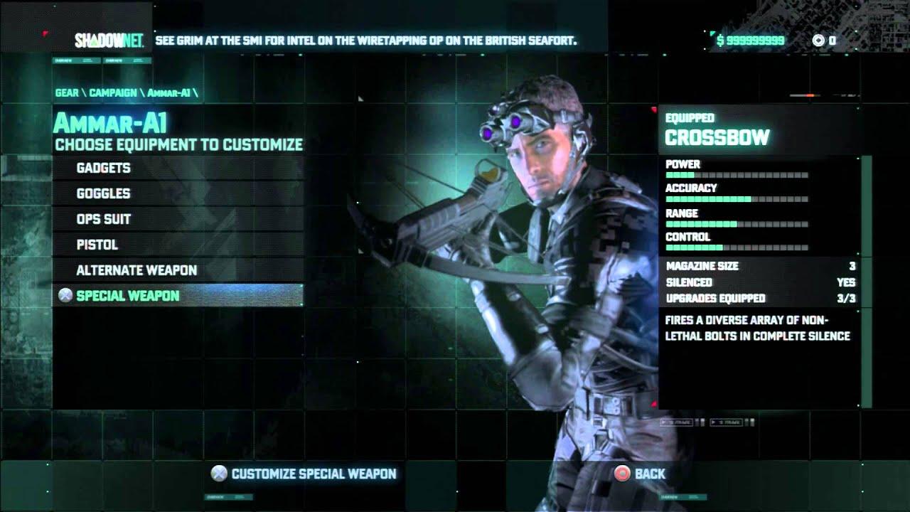 Splinter Cell Blacklist Hack Money 999999999 Unlock
