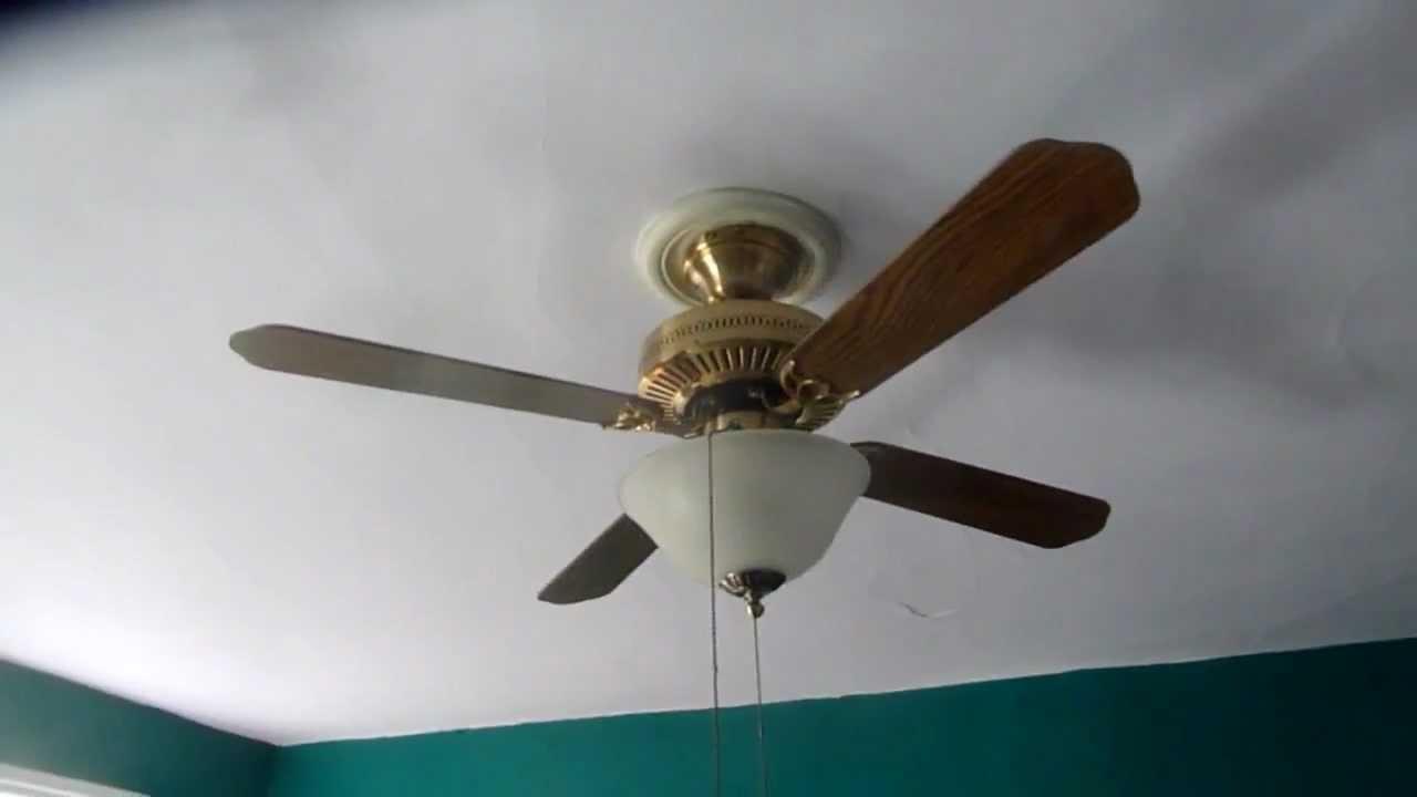 42 Quot Hampton Bay Landmark Ceiling Fan Youtube