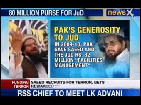 NewsX: Pak gifts Saeed a bounty