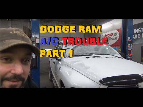 Dodge Truck A/C Repair Part 1