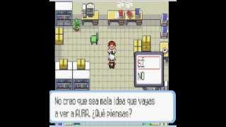 Pokemon Rubi /Guia/Parte1 /El Primer Pokemon
