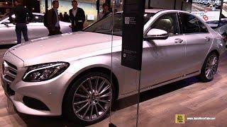 2018 Mercedes C350e Hybrid - Exterior and Interior Walkaround - 2017 Frankfurt Auto Show