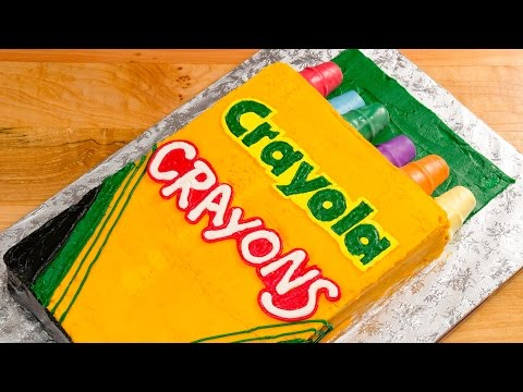 Crayola Crayons Cake (Back to School) from Cookies Cupcakes and Cardio