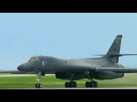 US bombers and fighters sent to fly near North Korea