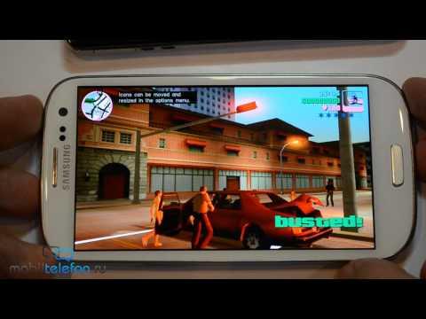 GTA Vice City на Samsung Galaxy S 3, iPhone 5, Sony Xperia V и тормоза