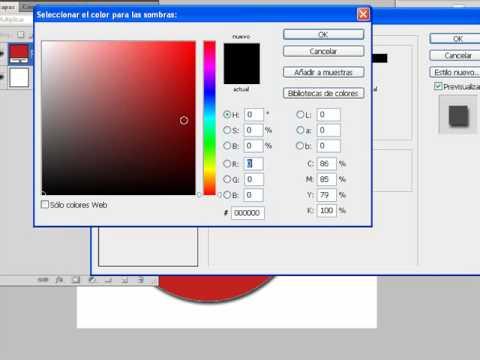 Photoshop - Opciones de fusion - Sombras