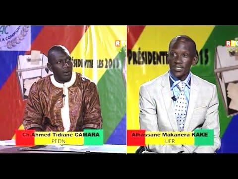 Elections présidentielles du 11 octobre 2015 -Programmes Croisés (UFR-PEDN)