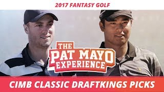 2017 Fantasy Golf Pick - CIMB Classic DraftKings Picks, Sleepers and Preview