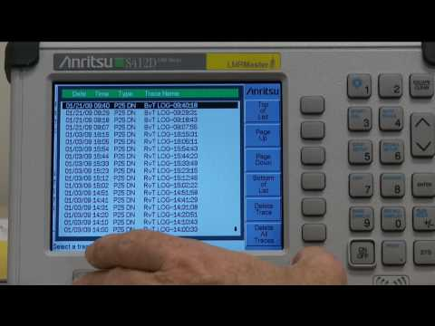 P25 Land Mobile Radio Testing with Anritsu LMR Master S412D (HD)