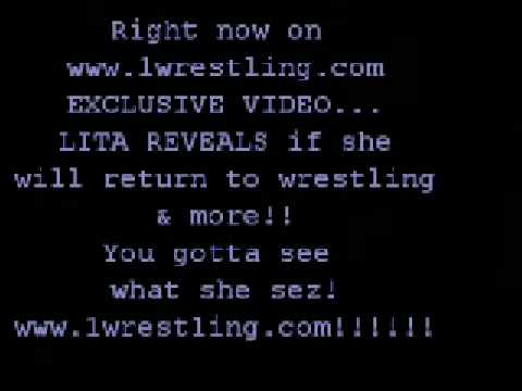 Amy lita Dumas Reveals If She Will Return To Wrestling video
