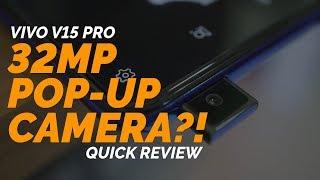 VIVO V15 PRO - Quick Review
