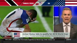 United States Fails To Qualify For 2018 World Cup | Oct 11, 2017
