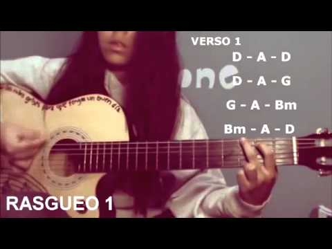 One Thing - One Direction (tutorial De Guitarra En Español) video