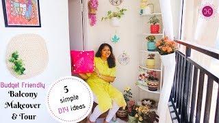 Beautiful Balcony Makeover / Easy DIY Indian Balcony Decoration Ideas /  Ft.Disha Mishra Dubey