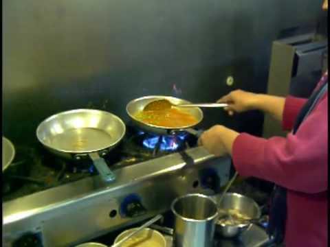 Mutter Paneer at the Taj Mahal Restaurant