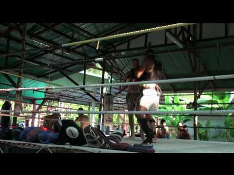 Tiger Muay Thai Pad Training with Kru Yod Image 1