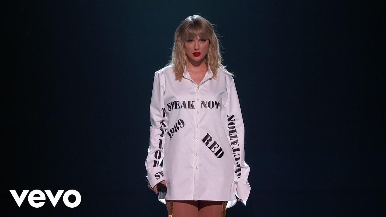 """Taylor Swift - 「2019 American Music Awards」から""""Lover""""など約12分のライブパフォーマンス映像を公開 thm Music info Clip"""