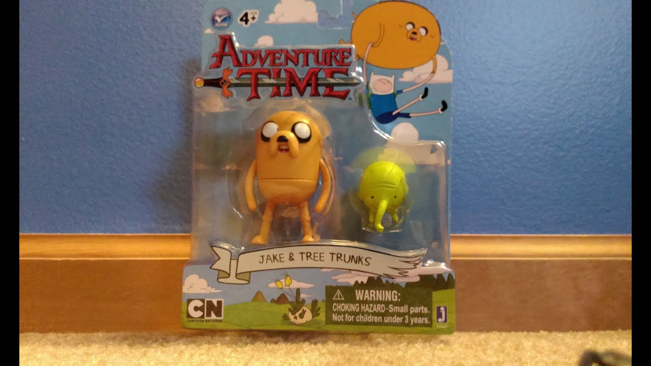 "Unboxing Adventure Time: Jake & Tree Trunks 3"" Figure Pack ..."
