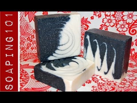 How to Make Salt Bars {cold process sea salt spa soap}