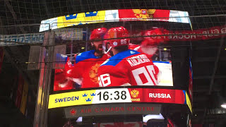 Team Russia Intro Video 2016 World Cup of Hockey