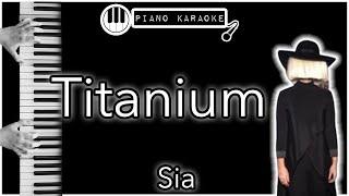 Titanium David Guetta Ft Sia Piano Karaoke