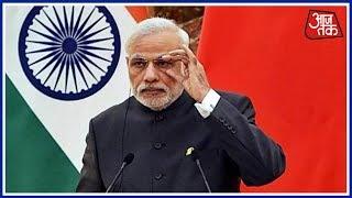 PM Modi Launches Scathing Attack On Pakistan At SCO Summit   Shatak AajTak