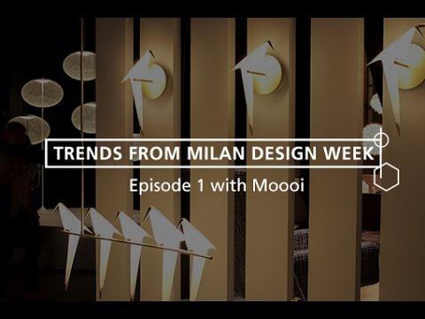 Best Interior Design Trends from Milan Design Week 2016 - Episode 1 of 6