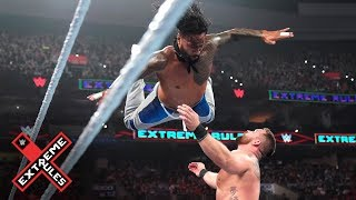 The Usos take out The Revival with incredible leap: WWE Extreme Rules 2019