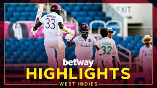 Highlights   West Indies v Pakistan   1st Test Day 4   Betway Test Series presented by Osaka