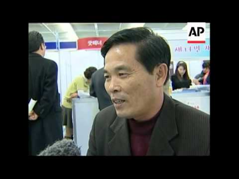 Job fair for North Korean defectors settling in SKorea