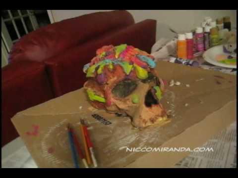 Time Lapse Skullpture