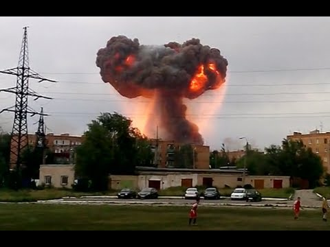 Video: Strong explosions rock ammo depot storing 13mn shells in Russia