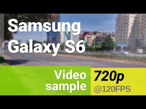 Samsung Galaxy S6 Slow motion