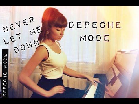 Depeche Mode - Never Let Me Down [ acoustic cover ]