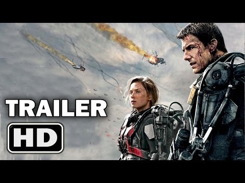 EDGE OF TOMORROW Trailer [Tom Cruise - Emily Blunt - 2014