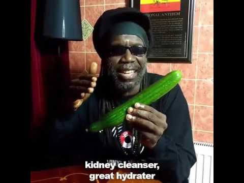Cucumba!!! Jamaican Cucumber Rap / Macka B Viral Video [EKM.CO]