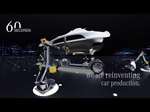 """Mercedes Benz Car Production """"Factory 56"""" World Premiere  60 Seconds"""