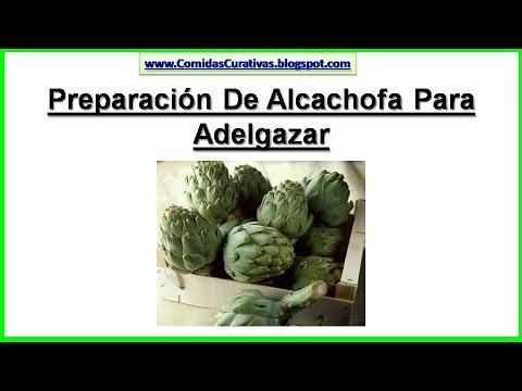 Preparación De Alcachofa Para Adelgazar