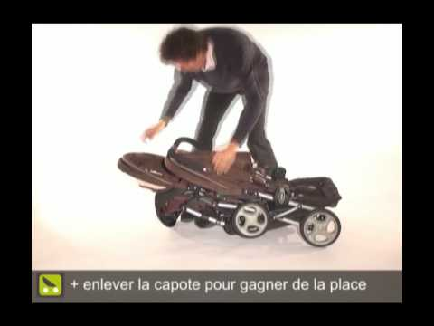 poussette magazine pliage de la graco stadium duo youtube. Black Bedroom Furniture Sets. Home Design Ideas