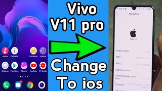 vivo v11 pro to change in ios iPhone