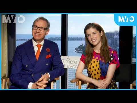 """Anna Kendrick And Paul Feig Talk About """"A Simple Favor"""" 