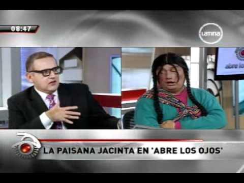 ABRE LOS OJOS 03-02-2012 BETO ORTIZ ENTREVISTA A LA PAISANA JACINTA parte 1-3