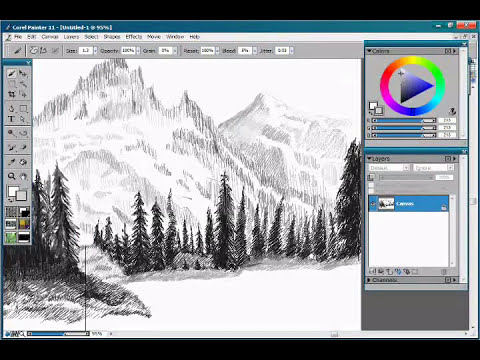 Speed Painting   Paisaje
