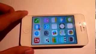 iphone 4S Graba Vídeo con volumen bajo o sin audio