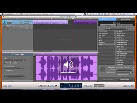 how to change key in audacity