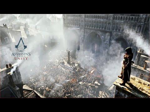 Assassins Creed Unity - (GTX 780 + i5) Primeiros Minutos